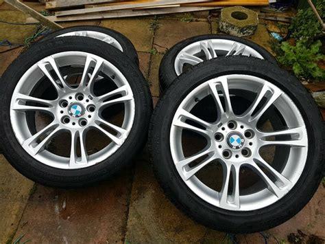 Bmw 18 Inch Rims by Genuine 18 Inch Bmw F10 M Sport Alloy Wheels 5 Series In