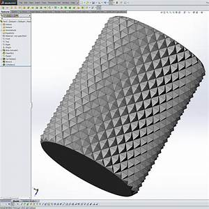 Accurate Knurls in SolidWorks Tom's Maker Site