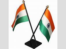 Indian Cross Table Flag With Acrylic Base And Plastic Pole