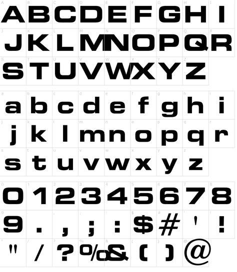 opti edgar bold extended font