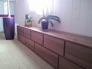 Meuble Bas Salon : cr ation d 39 un meuble bas moderne salon marseille par agostini ~ Teatrodelosmanantiales.com Idées de Décoration