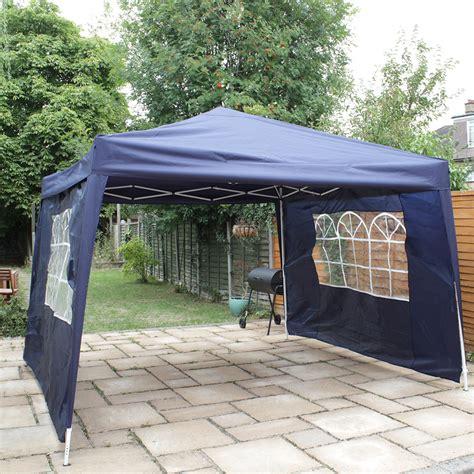 waterproof gazebo canoup 3x3 blue heavy duty pop up gazebo canopy party tent wedding waterproof ebay