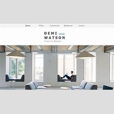 Interior Design Portfolio Wix Template  Wix Portfolio