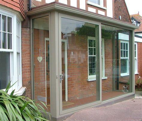 Front Door Porch by Aluminium Sliding Porch Doors Exterior Porches