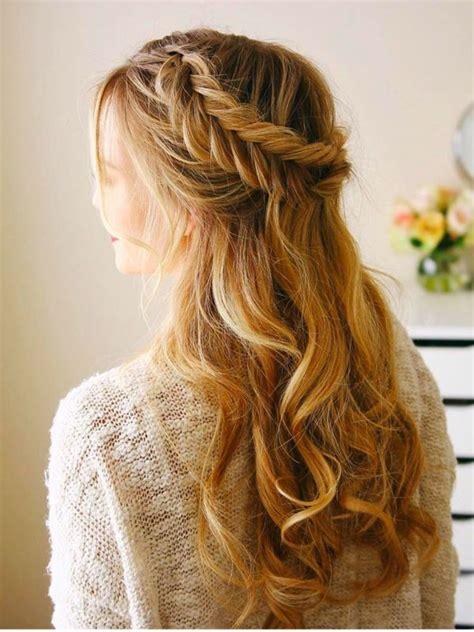 fishtail braid half up half down hair wedding hair