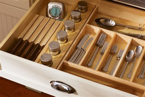 Silverware Trays  Divided Drawers  Drawer Partitions