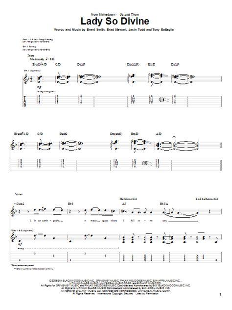 lady so devine sheet music direct