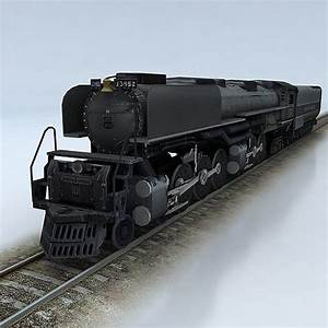 Challenger Union Pacific 3D asset | CGTrader