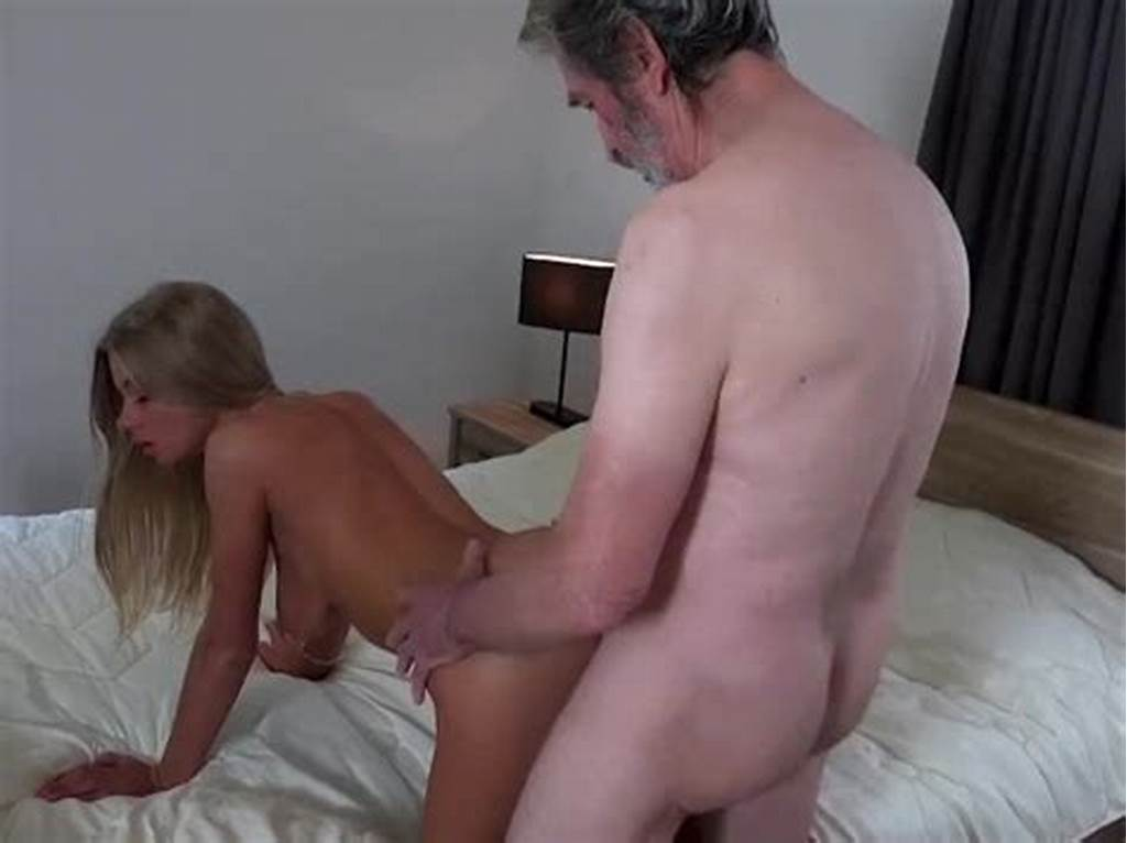 #Old #Man #Fucked #Young #Blonde #Teen #Blowjob #Doggystyle #And