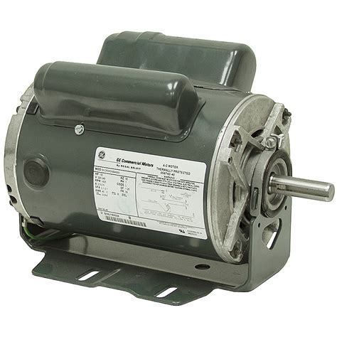 Electric Motor Mount by 1 2 Hp 1425 Rpm 240 Vac 50 Hz Ge Commercial Motor Ac