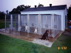 Outdoor Dog Kennel Plans