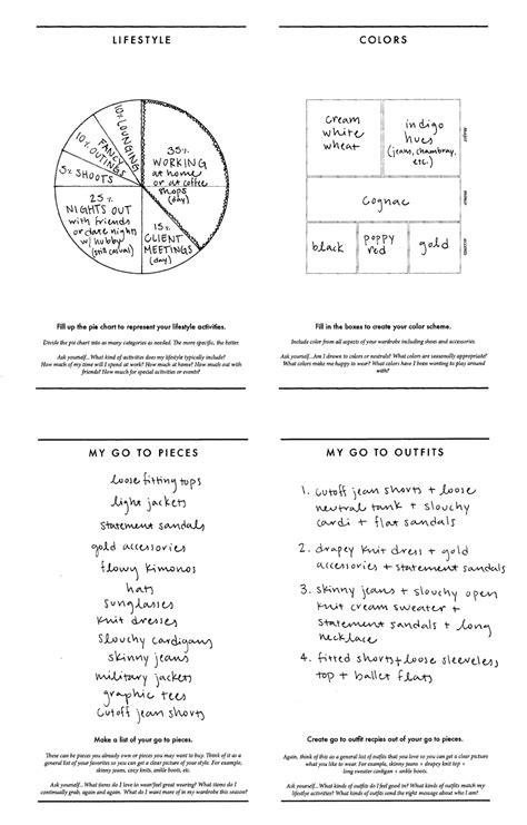 Capsule Wardrobe Planner by Free Wardrobe Planner Wardrobe Planner Capsule Wardrobe