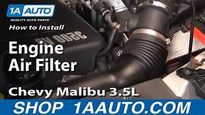 How To Install Replace Engine Air Filter 04