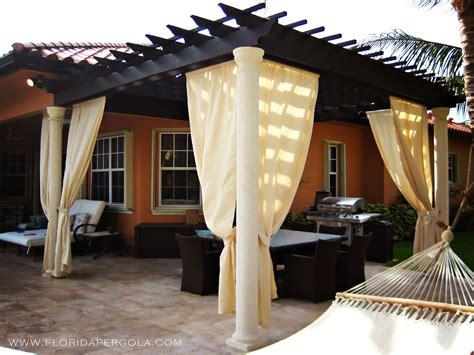 pergola with curtains outdoor pergola curtains 8 top