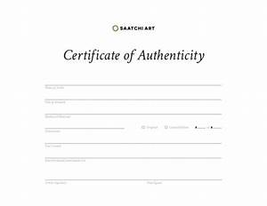 certificate of authenticity template uk gallery With letter of authenticity template
