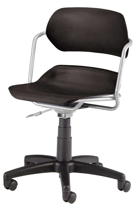 white plastic swivel chair images