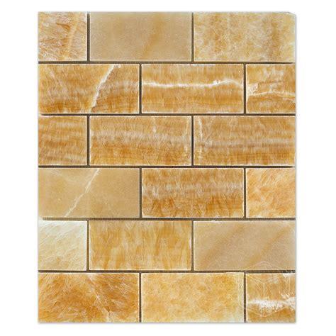 honey onyx marble mosiac 2 215 4 polished wholesale marble tiles