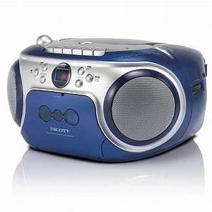 Radio Cd Kassette : radio cassette cd player the essential b10 bl scott b10bl ~ Jslefanu.com Haus und Dekorationen
