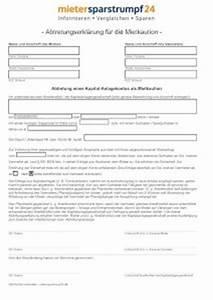 Abrechnung Mietkaution Muster : pdf abtretungserkl rung f r mietkaution ~ Themetempest.com Abrechnung