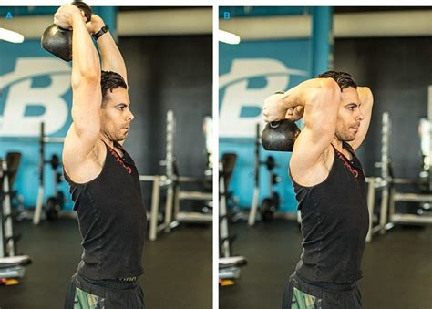 arm exercises unique kettlebell extension overhead triceps must fun