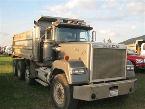 mack dump truck 1989 mack rw753 dump truck