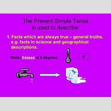 Simple Present Tense Ppt