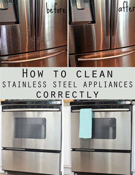 stainless steel appliance cleaner how to best care for
