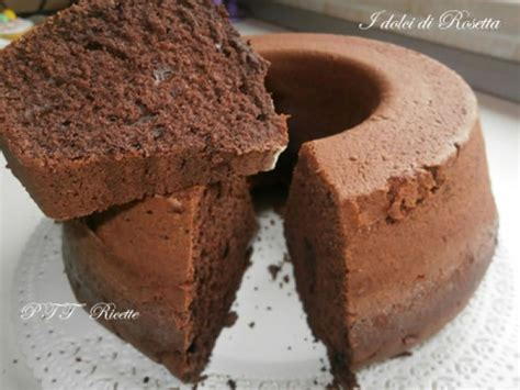 ciambella  cioccolato  cacao ptt ricette