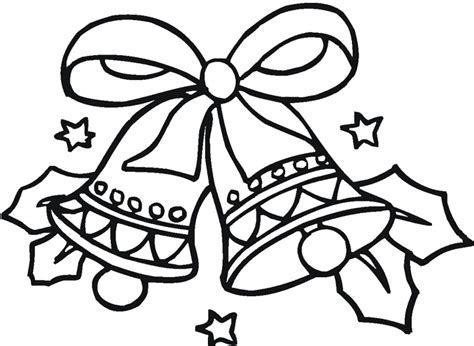 Christmas Bell working sheets for kids   Coloring Point