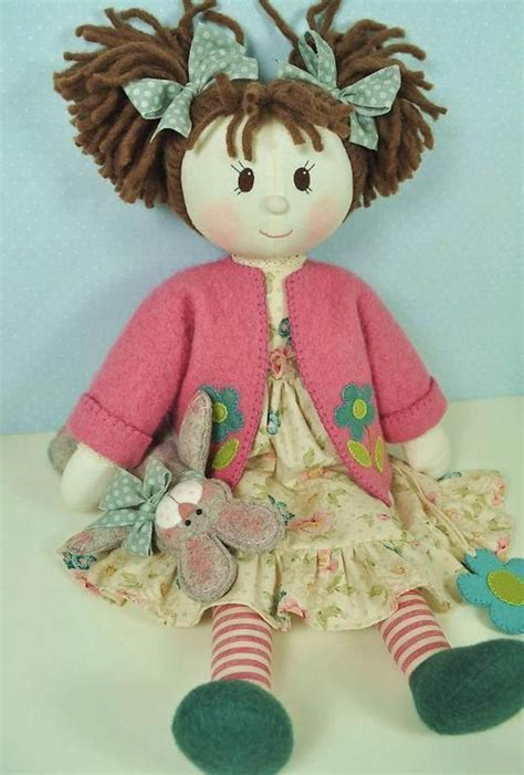 millie rose rag doll pattern  craftsy rag dolls