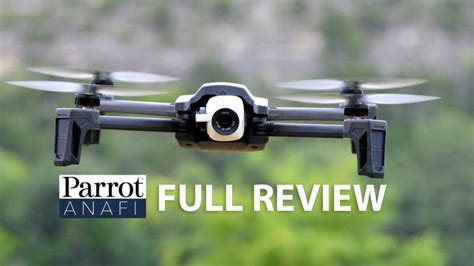 parrot anafi drone overview drone market