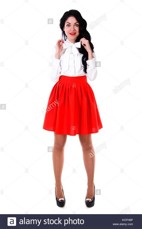 Short Skirt Cut Out Stock Images And Pictures Alamy