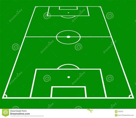 soccer pitch stock illustration image  design layout