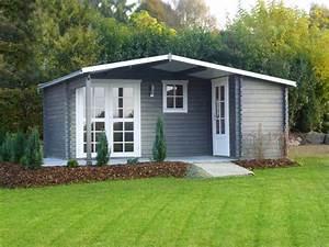 Gartenhaus Mit Unterstand : gartenhaus blockhaus ger tehaus ~ Whattoseeinmadrid.com Haus und Dekorationen