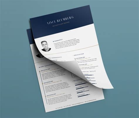 Ui Design Resume Psd by Resume Cover Letter Free Psd Templates Psd