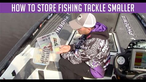 how to store fish how to store fishing tackle youtube