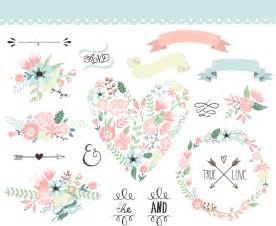 wedding vector wedding flowers vector images