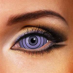 SHARINGAN RINNEGAN PURPLE SCLERA 22MM CONTACT LENSES ...