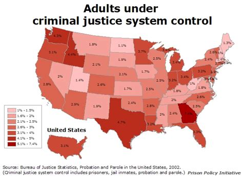 bureau of statistics united states adults criminal justice system prison