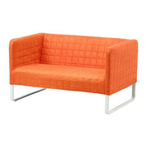 ikea canap tissu 2 places knopparp canapé 2 places orange ikea