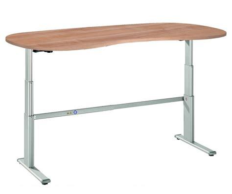 hauteur de bureau bureau assis debout courbe ergo