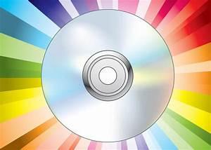 cd dvd disc vector