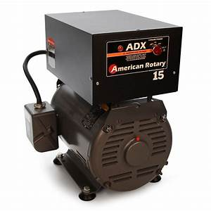 American Rotary Phase Converter Adx15f 15 Hp Floor 1 To 3