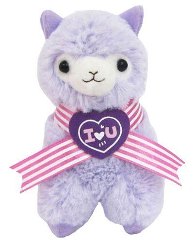 "YesAnime.com   Llama Sweet Heart Alpaca 18"" Prime Plush"
