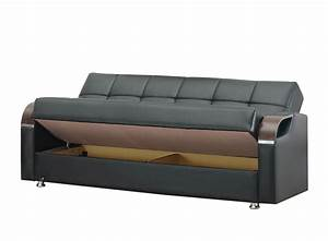 angel espresso black bonded sofa bed by kilim With kilim sofa bed