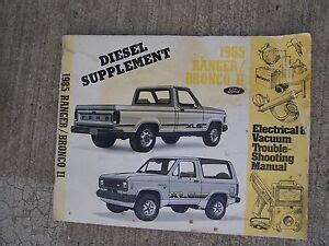 Ford Ranger Bronco Electric Vacuum Troubleshooting
