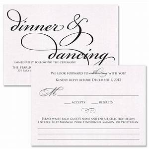reception card someone else39s wedding pinterest With examples of wedding reception cards wording