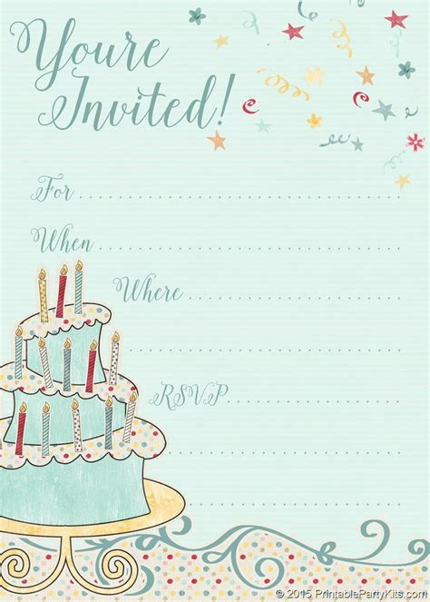 template bday party images  pinterest