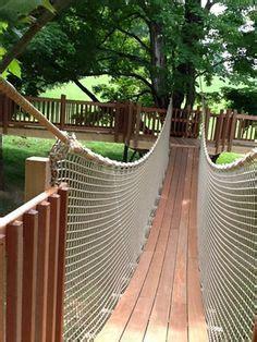 rope bridge kit   build cable bridges tree