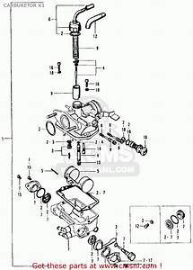 Carburetor Assy  For Ct90 Trail 1969 K1 Usa
